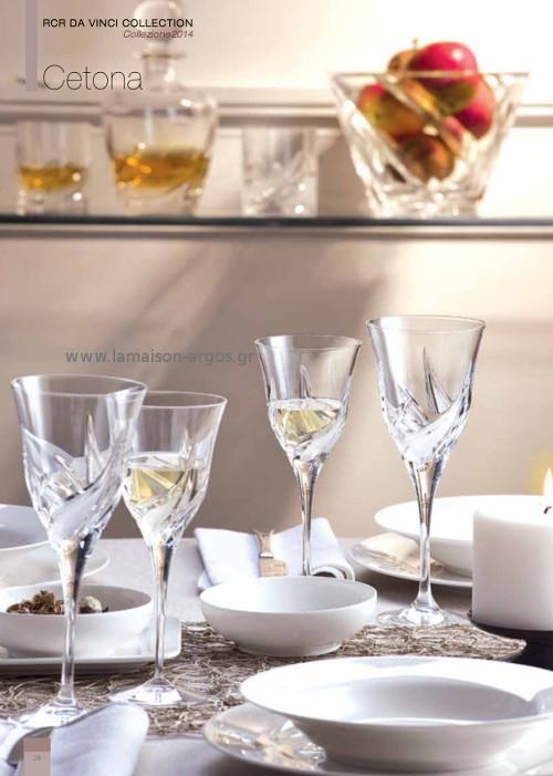 κρυστάλλινα ποτήρια DA VINCI Cetona 1
