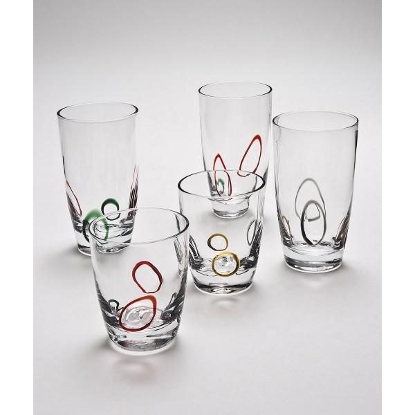 ποτηρι χαμηλό σωλήνα Joy cryspo trio