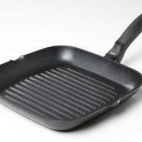 Αντικολλητικό Τηγάνι grill risoli OPTIMA με κάλυμμα